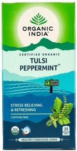Organic India Tulsi Peppermint Tea 25Teabags