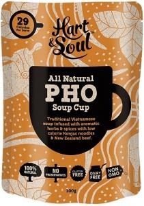 Hart & Soul All Natural Pho Soup Cup Sachet G/F 100g