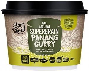 Hart & Soul All Natural Super Grain Panang Curry Ready Meal G/F Vegan 250g