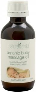 Natures Child Organic Baby Massage Oil 100ml