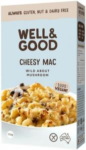 Well And Good Cheesy Mac Wild About Mushroom G/F 110g