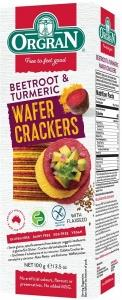 Orgran Beetroot & Turmeric Wafer Crackers G/F 100g
