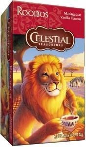Celestial Seasonings Madagascar Vanilla Rooibos Tea 20Teabags
