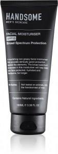 Handsome Men's Organic Skincare Facial Moisturiser SPF15 100ml