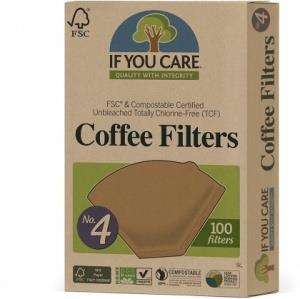 If You Care Coffee Filters No.4 100Filters