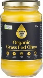 Golden Ghee Co Organic Grass Fed Ghee G/F 325g