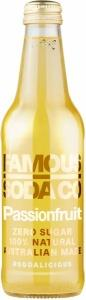 Famous Soda Co Sugar Free All Natural Passionfruit Soda 330ml