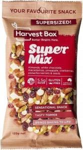 Harvest Box Super Mix Snack G/F Value Bag 135g