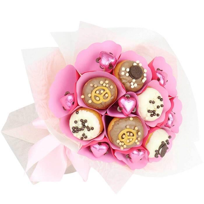 Image of Mothers Day Pink Donut Bouquet