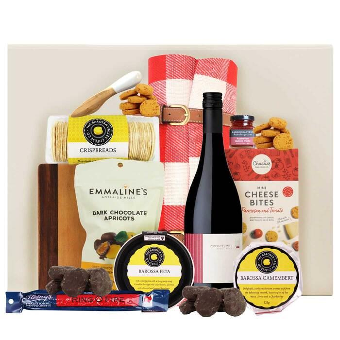 Image of Mothers Day Barossa Wine and Cheese Gift Hamper