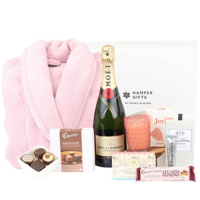 Image of Mothers Day Luxury Moet Sweet Dreams Hamper