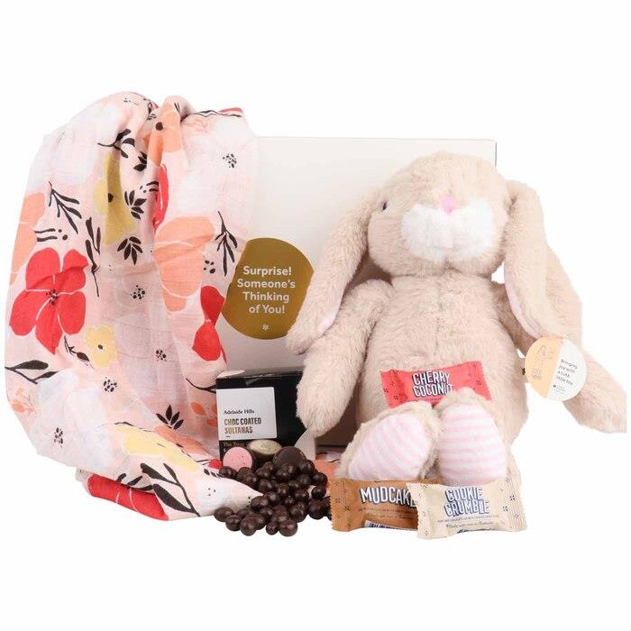 Image of Mothers Day Plush Bunny Treat Box