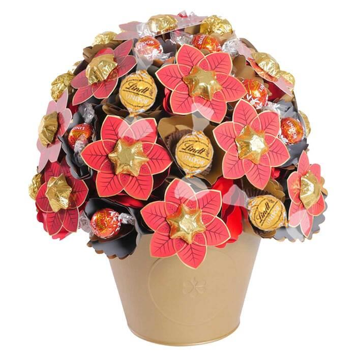 Image of Mothers Day Christmas Chocolate Bouquet