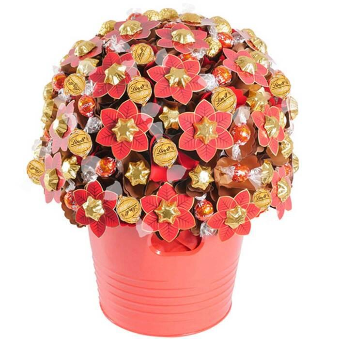 Image of Mothers Day Mega Christmas Chocolate Bouquet