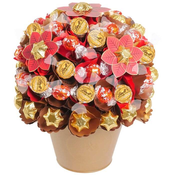 Image of Mothers Day Luxury Christmas Chocolate Bouquet
