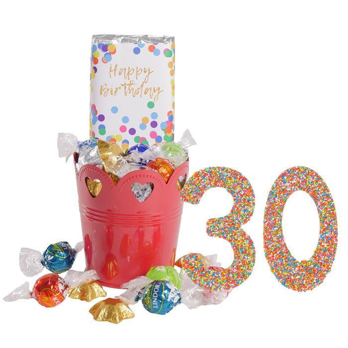 Image of Mothers Day 30 Happy Birthday Bucket