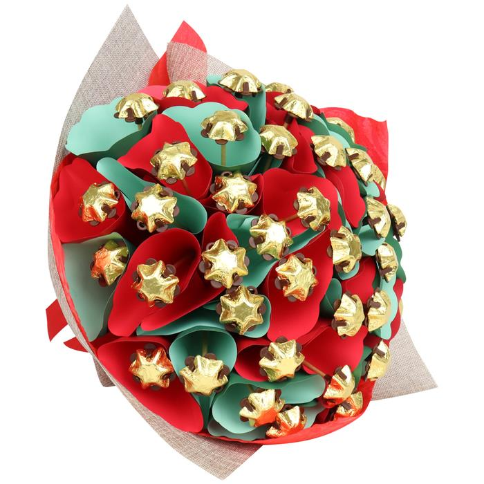 Image of Mothers Day Christmas Star Bouquet Grand