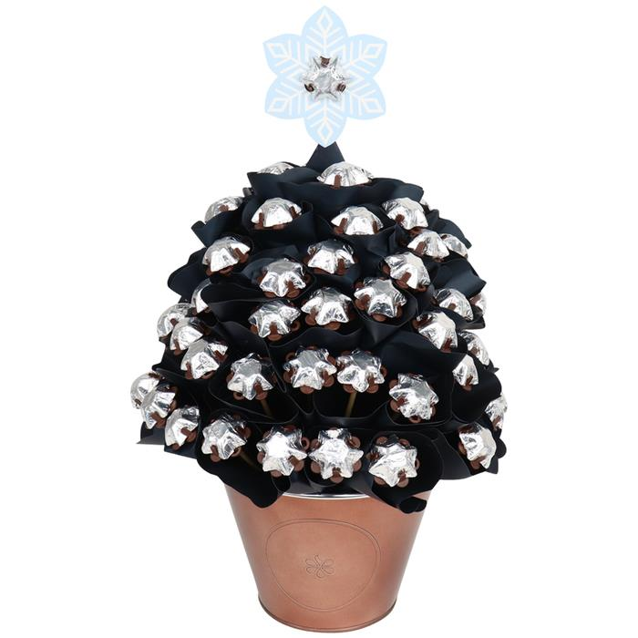 Image of Mothers Day Luxurious Silver Christmas Tree