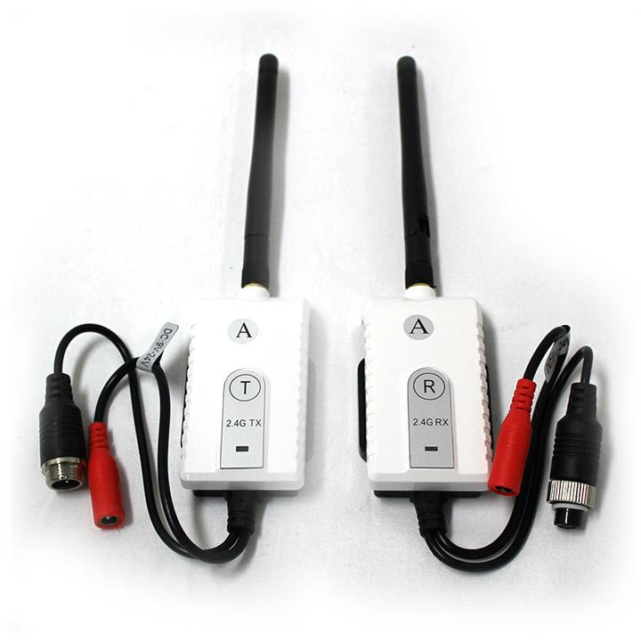 Image of Elinz Channel 1 Digital Wireless Receiver Transmitter 2.4GHz for 4PIN Reversing Camera Monitor