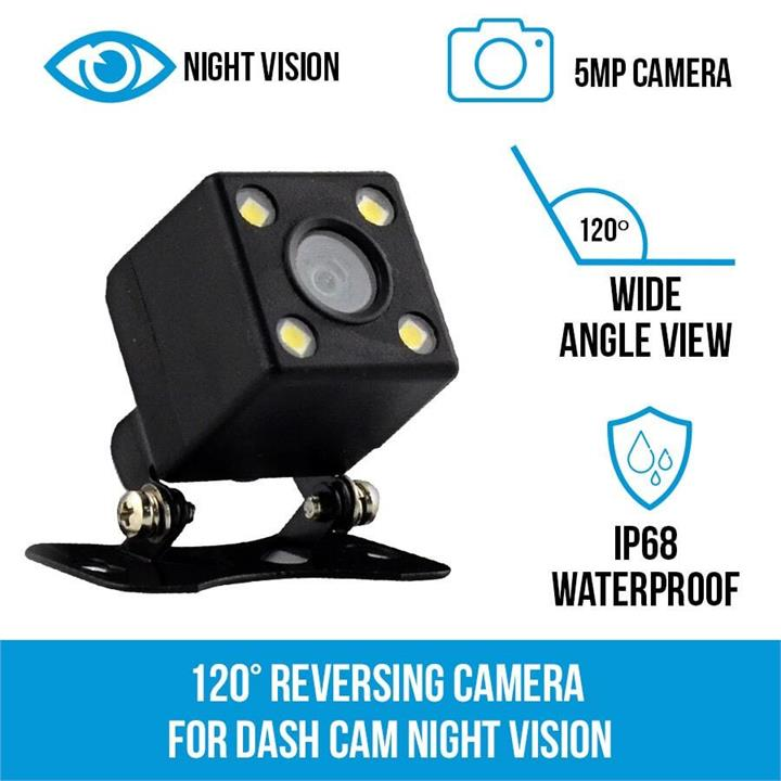Image of 120 Reversing Camera for Dash Cam Night Vision Elinz