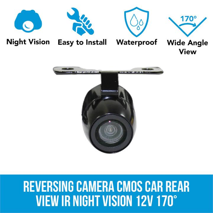 Image of 170 Reversing Camera CMOS Car Rear View IR Night Vision 12V Elinz