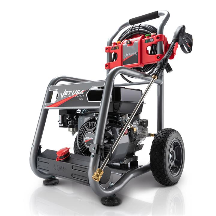 PRE-ORDER Jet-USA 4800PSI Petrol Powered High Pressure Washer- CX760 Gen IV