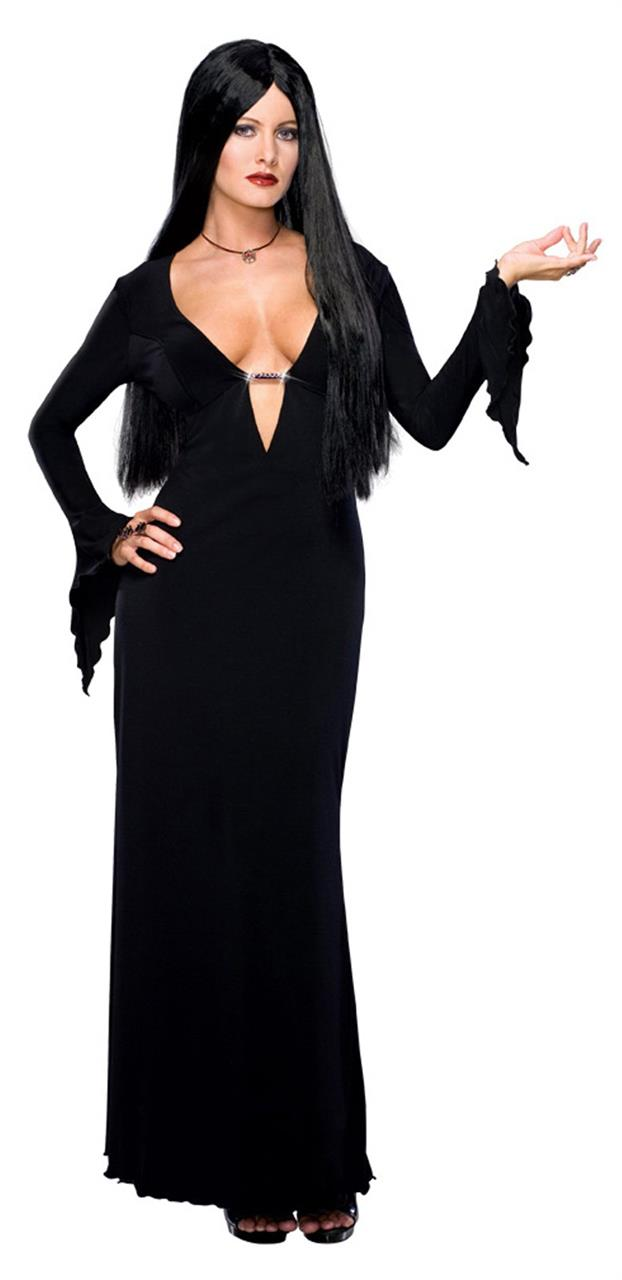 The Addams Family Sexy Morticia Adult Costume