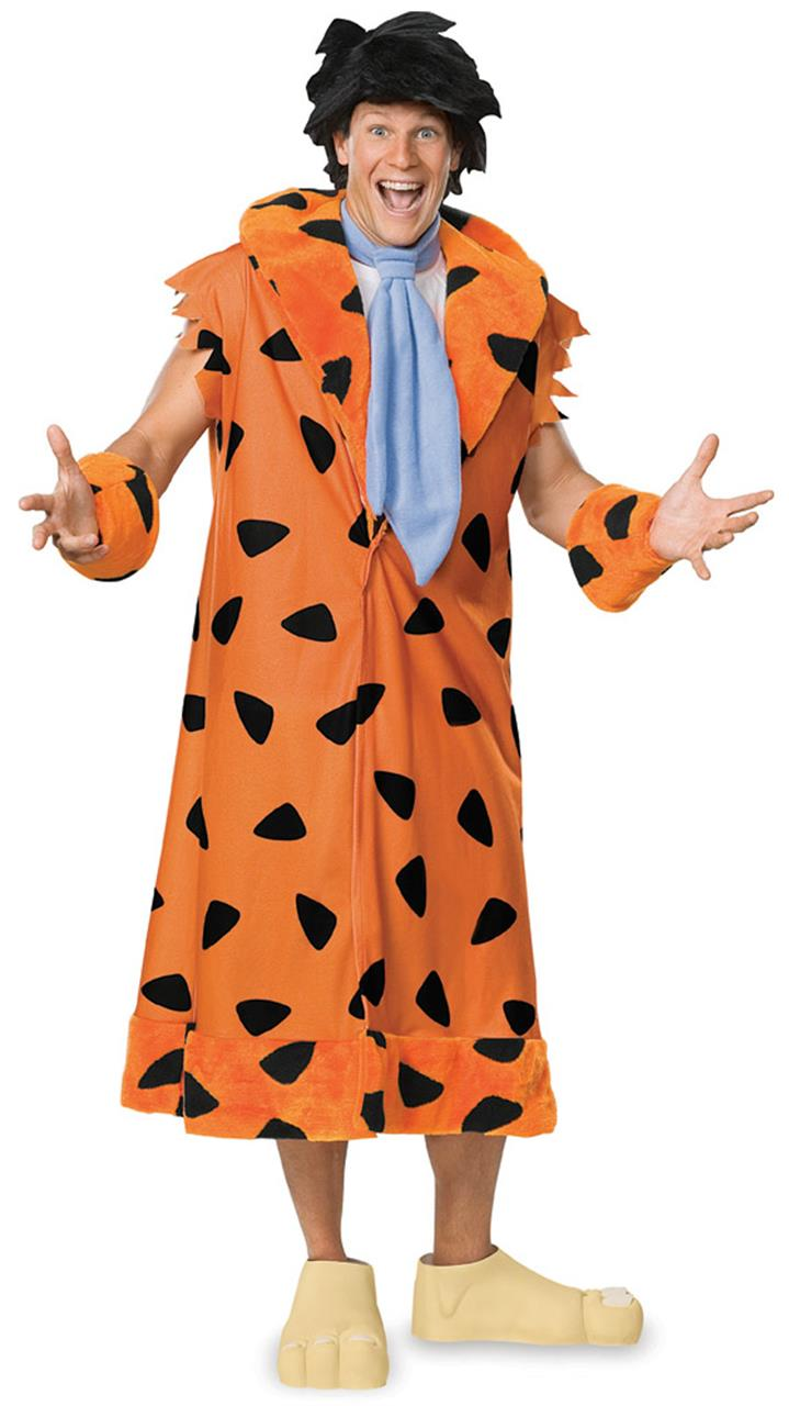 The Flintstones Fred Flintstone Adult Plus Costume