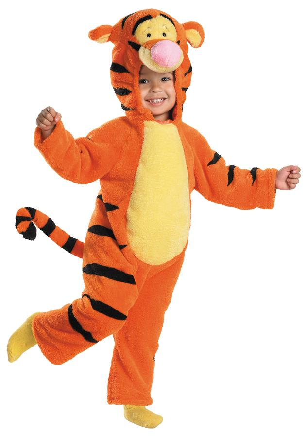 Winnie the Pooh Tigger Deluxe Plush Toddler Costume