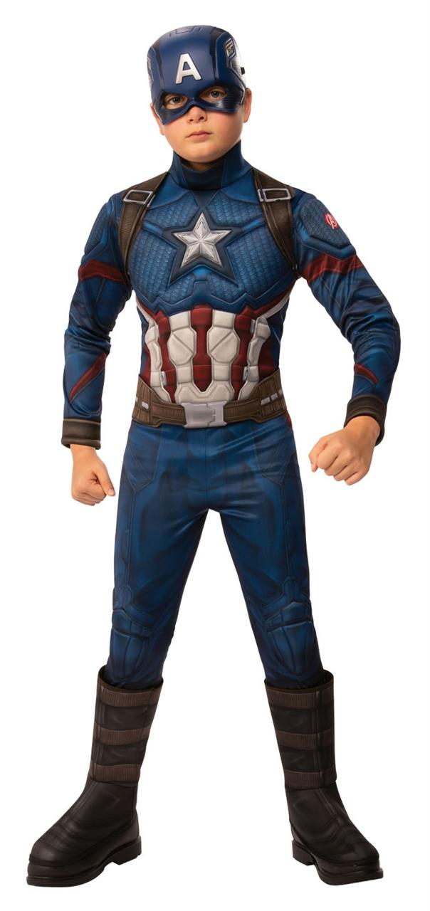 Image of Avengers Endgame Captain America Deluxe Child Costume