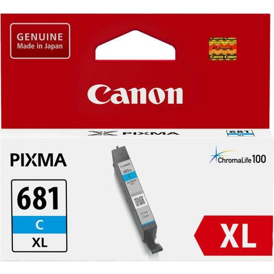 Image of Canon CLI681XLC Canon Ink Cyan XL