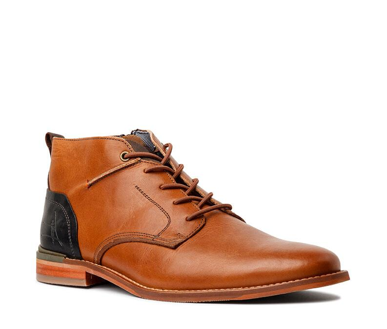 Shoes Unlimited Shelby dress boot Tan