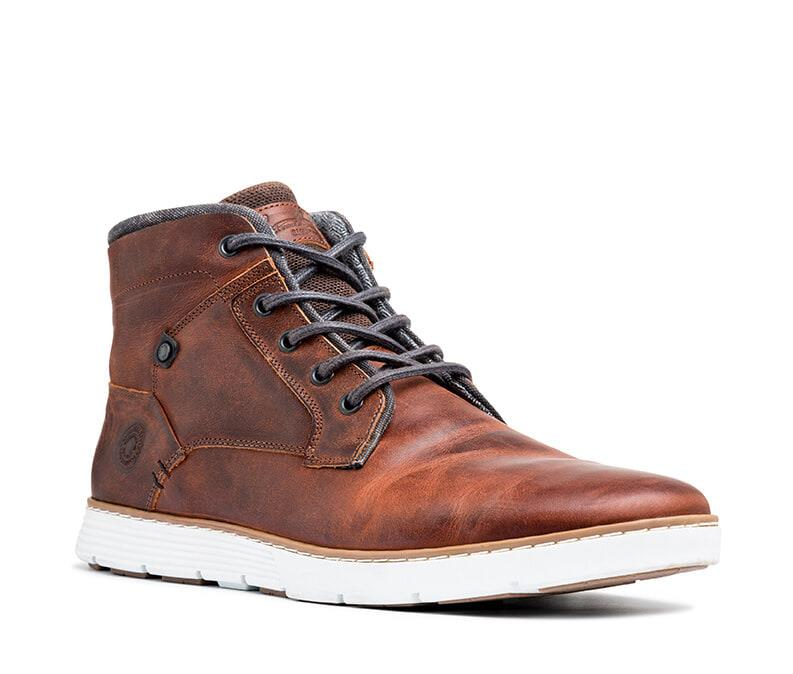 Shoes Unlimited Smokey lace up boot Brown