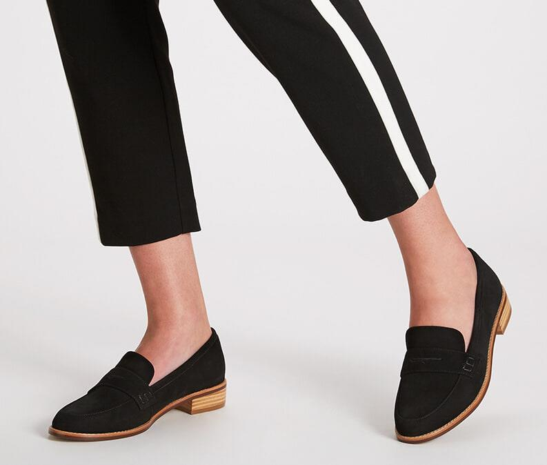 Ming Chen Tennesse loafer Black