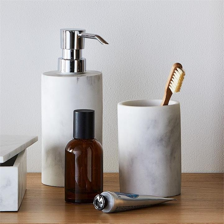 Mercer + Reid Milan Bathroom Accessories 12x9x3cm White  By Adairs