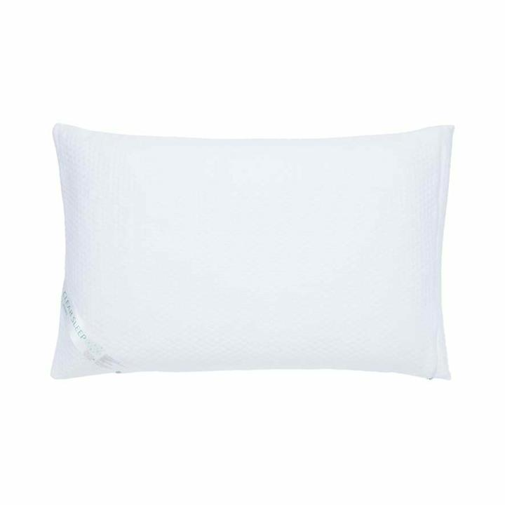 Clear Sleep Bamboo Fully Encased Waterproof Protector Standard Pillow - White By Adairs