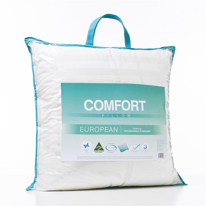 Adairs Comfort Comfort European Pillow - White