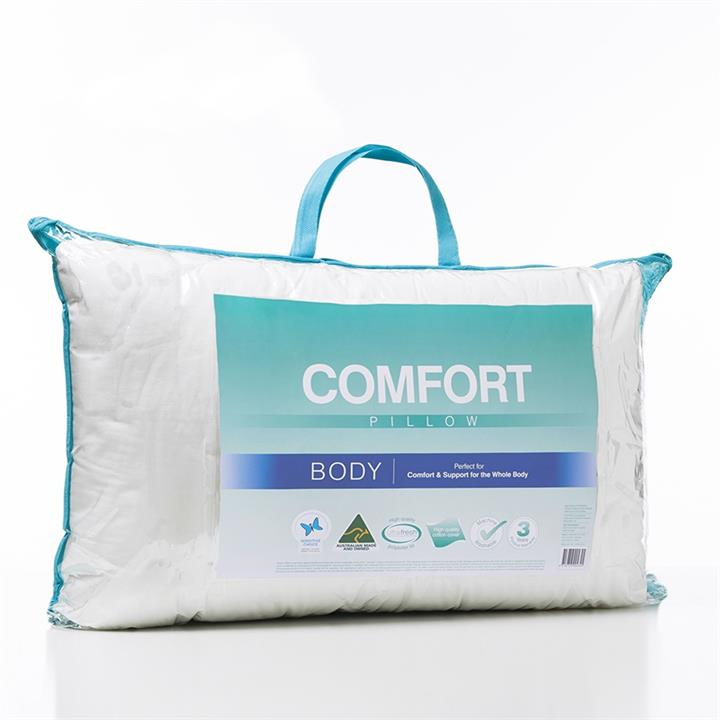 Adairs Comfort Comfort Body Pillow - White