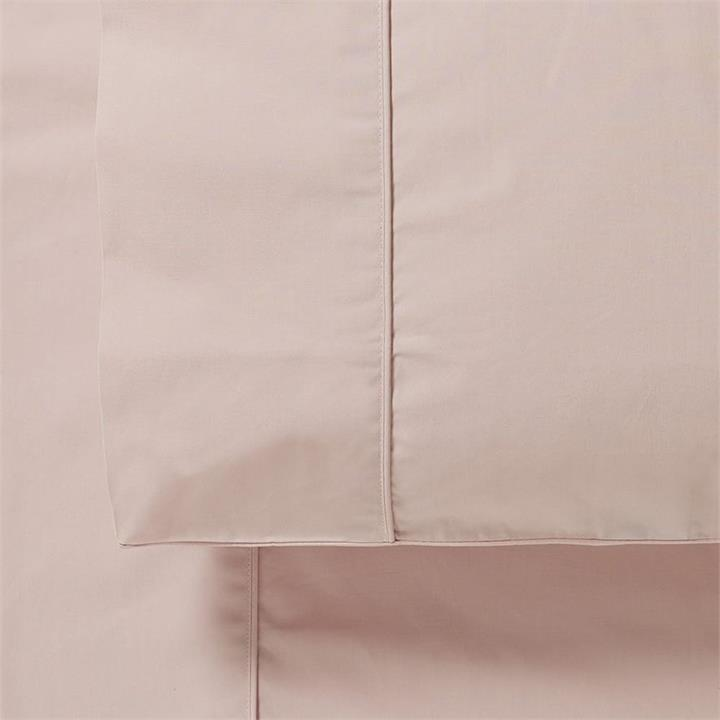 Worlds Softest Cotton Sheets Worlds Softest Cotton Sheet Separates Double Crystal Pink Fitted Sheet - Crystalpink By Adairs