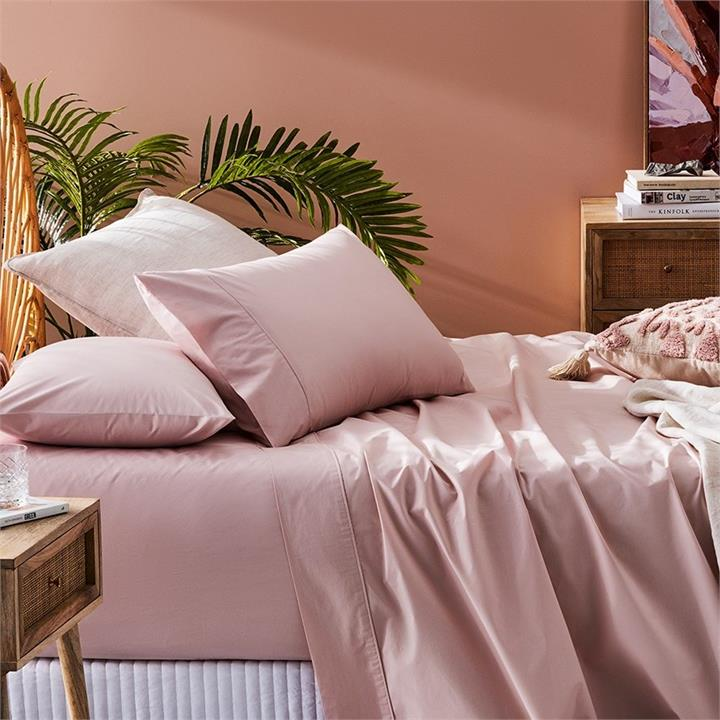Fresh by Home Republic Fresh Separates Double Lotus Fitted Sheet By Adairs