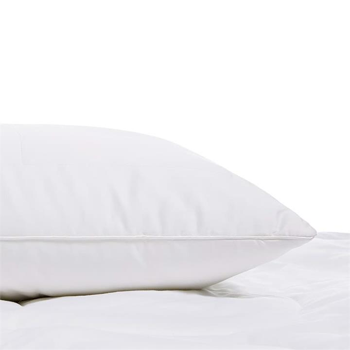 Downtime Bamboo Pillow Low / Medium - White