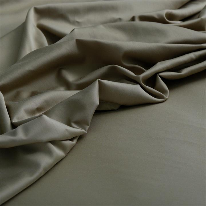 Canningvale Alessia Bamboo Cotton Sheet Sets - King Single, Saggia Green