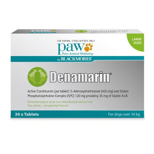 Paw Denamarin Tablets Large 30 pack