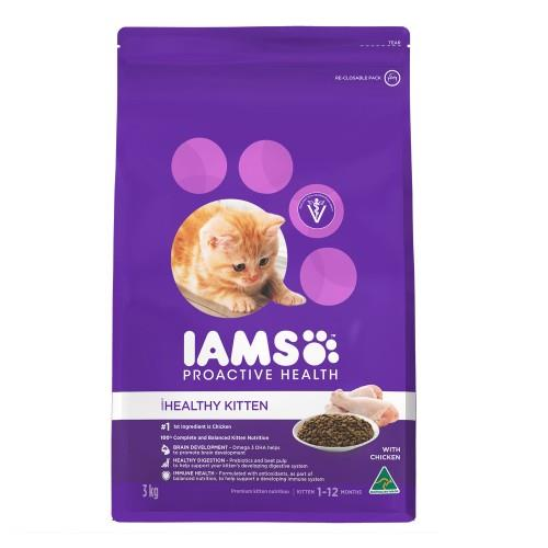 Image of Iams Kitten and Junior 2.55kg