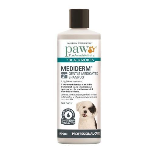 Image of Paw Mediderm Shampoo 500ml