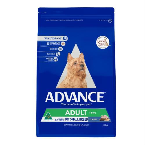 Image of Advance Small Breed Turkey and Rice 2.5kg