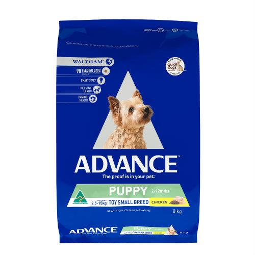 Image of Advance Puppy Plus Toy and Small Breed Chicken Rehydratable 8kg