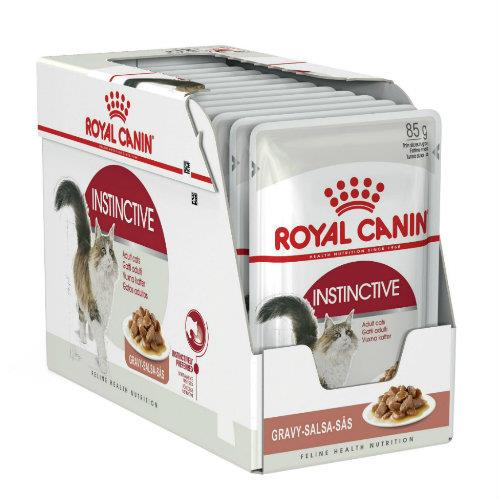Royal Canin Adult Instinctive in Gravy 12 x 85g