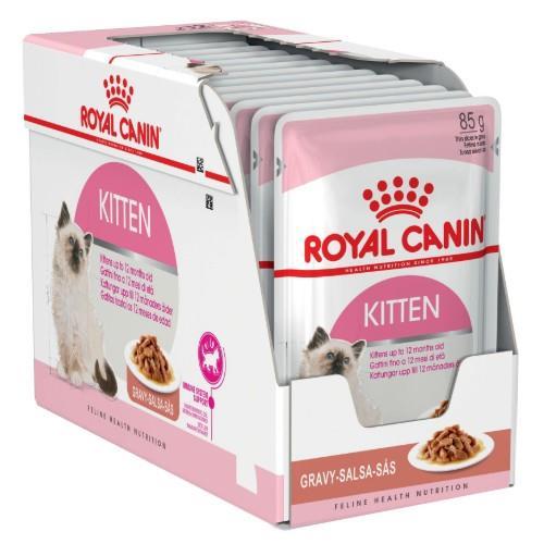 Image of Royal Canin Kitten Instinctive in Gravy 12 x 85g