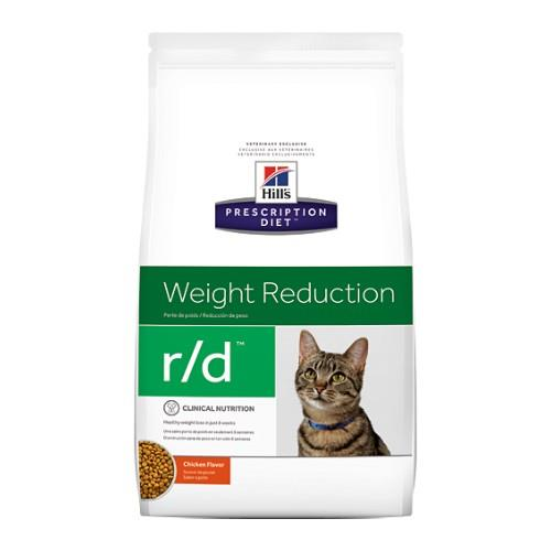 Image of Hills Prescription Diet r/d Weight Reduction Dry Cat Food 3.9kg
